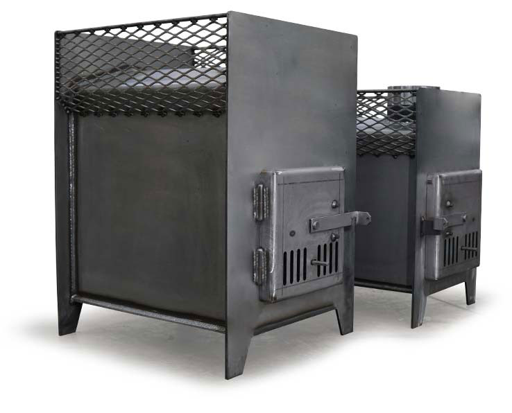 Large And Small Sauna Stoves